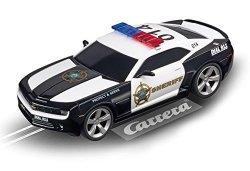 Carrera USA Carrera Evolution 27523 Chevrolet Camaro Sheriff Slot Car