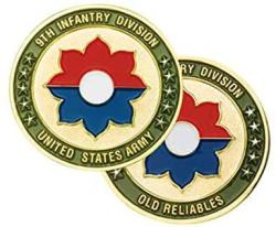 USA 9TH Infantry Division Challenge Coin