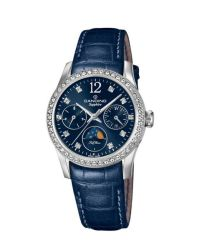 Candino Sapphire Swiss Made Ladies Leather Watch - Lady Casual