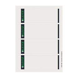 Esselte Leitz Easyprint PC Printable Wide Lever Arch File Spine Labels - Grey