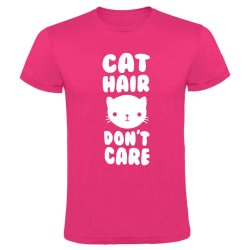 Cat Hair Don&apos T Care T-Shirt - Small