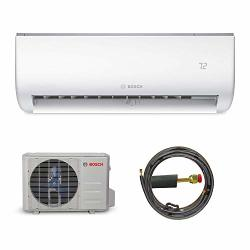 Bosch Ultra-quiet 12K Btu 115V MINI Split Air Conditioner & Cooling System With Inverter Heat Pump 20.9 Seer High-efficiency - 7 Yr. Ltd. Warranty And Energy Star Certified