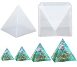 """Large Pyramid Mold 5.9"""" Buytra Silicone Mold For Resin Resin Casting Mold Clear Epoxy Resin Molds For Diy Orgonite Pyramid Jewel"""
