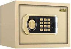 USA Wall Safes Cabinet Safes Drop Slot Safes Safe Home Small Safe Fingerprint Password MINI Bed All Steel Wall Anti-theft Safe Box Invisible Wall Installa