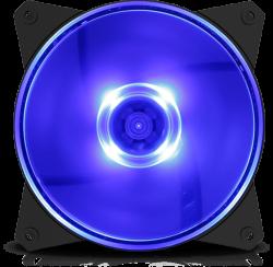 Cooler Master Cm Masterfan MF120L Fan - Blue LED CM-MFAN-MF120L-U
