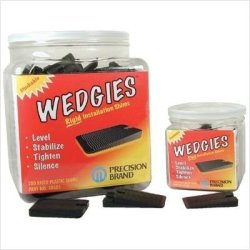 The Wedgie - White Flexible Shim - 200 Pieces