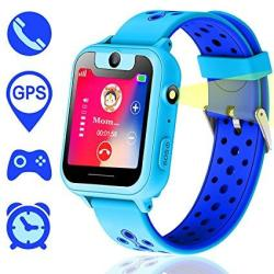 3057cdeea152bd Synmila Kids Smart Watch Gps Tracker Touch Screen Wrist Watch Phone With Sim  For Boys Girls With Camera Fitness Trackers Anti-lo