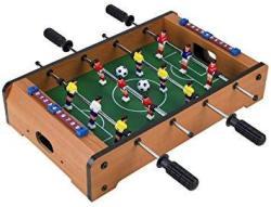 Homeware Wooden Classic MINI Table Top Foosball Soccer Game Set - 20