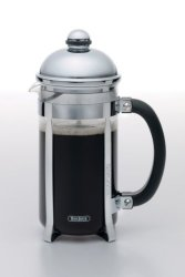 BonJour Coffee 8-DEMITASSE Cup 33.8 Oz Maximus French Press Stainless Steel
