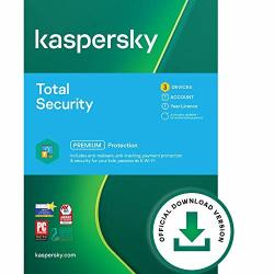 Kaspersky Total Security 2021 3 Devices 1 Year Pc mac android Online Code