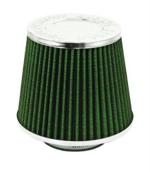 TOP Closed Cone Air Filter - 76MM - Green