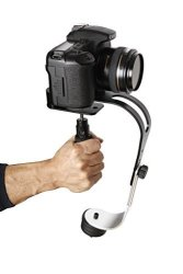 The Official Roxant Pro Midnight Black Limited Edition With Low Profile Handle Video Camera Stabilizer For Gopro Smartphone Canon Nikon Or Any Camera Up