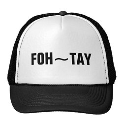 Smity 106 Foh-tay Hats Black