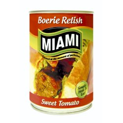 Miami - Sweet Tomato Boerie Relish
