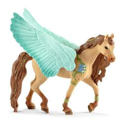Schleich Decorated Pegasus Stallion Toy Multicolor