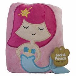 Jack & Friends Kids Animal Cuddly Blanket Mermaid