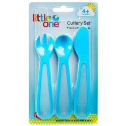 Little One 3PCE Cutlery Set Duo Grip