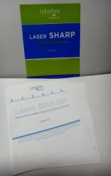 Rubachem Systems, Inc. Laser Sharp Cleaning Sheet For Laserjet Printer 100 Sheets