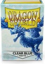 Clear Blue Matte Standard Size