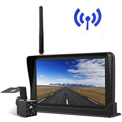 """Peizeen Wireless Backup Camera With 4.3"""" Lcd Screen HD Rear View Camera Kit Waterproof Reverse Cam Parking Lines For Trucks Cars"""