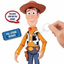Toy Story 4 Sheriff Woody Deluxe Pull-string Action Figure Walmart Exclusive