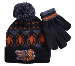 Spiderman Premium Beanie & Gloves Set