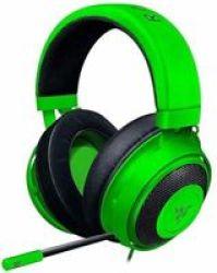 Razer Kraken Over-ear Gaming Headphones With Microphone Green