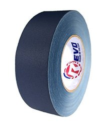 """Impact Tapes Revo Premium Professional Gaffers Tape 2"""" X 60 Yds Made In Usa Blue Gaffers Camera Tape- Stage Tape- Better Than Duct Tape Black Blue"""