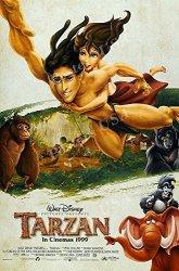 "Posters USA - Disney Classics Tarzan Poster Glossy Finish - DISN144 16"" X 24"" 41CM X 61CM"