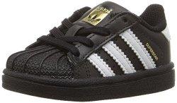 Adidas Originals Baby Superstar I Sneaker Core Black Ftwr White Ftwr White 8K M Us Toddler