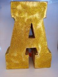 Decor Item 3D Cardboard Letters