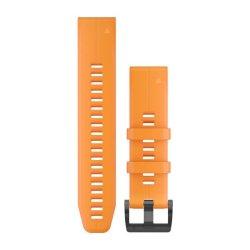 Garmin Quickfit 22MM Solar Flare Orange Silicone