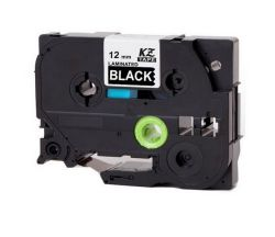 Brother Tz 335 Label Tape Laminated 12MM Wht blk 8M - Compatible