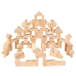 Override Kids Building Blocks Toys Set - 100 Pcs