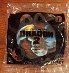 2014 Mcdonald's How To Train Your Dragon 2 Happy Meal Toy 1 Toothless Mint New Sealed