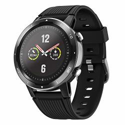 Letsfit Gps Smart Watch Fitness Tracker With Heart Rate And SPO2 Monitor Step Counter Sleep & Swim Tracking 5ATM Waterproof Smartwatch Compatible With Iphone And Android