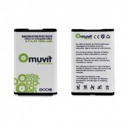 Muvit Battery For Blackberry 8520