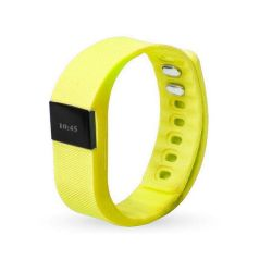 Smart Fitness Watch Band TW64 - Yellow