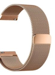 Milanese Band For Fitbit Blaze - Rose Gold Size: S m