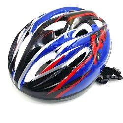 Kuyou Multi-sport Helmet For Kids Cycling skateboard Bike Bmx Dry Slope Protective Gear Suitable 3-8 Years Old Boys Black Blue