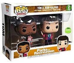 Funko Pop Television: Parks And Recreations Tom & Jean-ralphio Vinyl Figure Set 2018 Eccc Spring Convention Exclusive