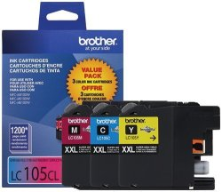 Brother LC1053PKS Ink Printer XXL -3 Pack