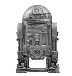 HGSheng Tbqg Star Wars R2D2 Stainless Steel Action Figure Souvenir Gift