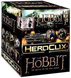 The Hobbit The Battle Of The Five Armies Heroclix Gravity Feed Box The Hobbit Battle Of The Five Armies