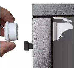 Baby A.n.s Safety Magnetic Cabinet Locks - No Tools Or Screws Needed 8 Locks + 2 Keys