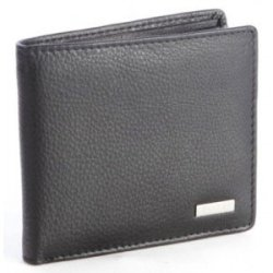 Polo Nappa Credit Card Billfold Wallet Black