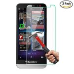 NEWELL 2 Pack Blackberry Z30 Screen Protector 0.26MM Premium Tempered Glass Screen Protector For Blackberry Z30 Bubble-free Anti