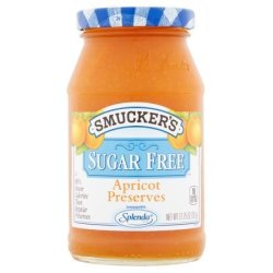 Smucker's Sugar Free Apricot Preserves 12.75 Ounce Pack Of 4