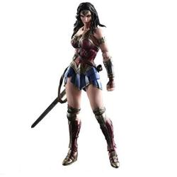 Play Arts Kai Batman V Superman: Dawn Of Justice Wonder Woman Pvc Pre-painted Action Figure