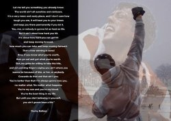 Rocky Motivational - Balboa 20 - Boxing - Quotations - A3 Poster - A3 Poster - Quote Sign Poster Print Picture Sports By Salopia